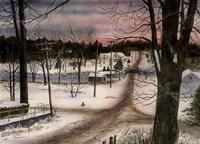 A Winters Day Fine Art Print