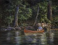 Along the Rivers Edge Fine Art Print