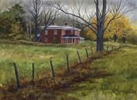 Autumn in the Valley Fine Art Print