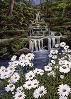 Cascade Flora Fine Art Print