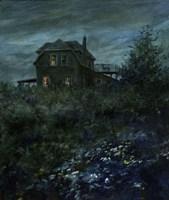 House on the Hill Fine Art Print