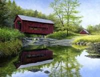 New England Red Fine Art Print