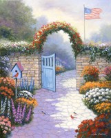 Garden Splendor Fine Art Print