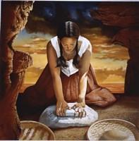 Indian Girl Fine Art Print
