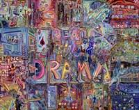Real life Drama Fine Art Print