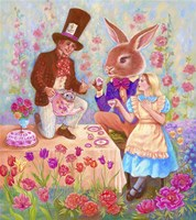 Mad Hatters Tea Party Fine Art Print