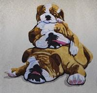 Bulldogs Fine Art Print