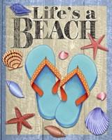 Life's A Beach Fine Art Print