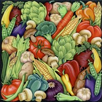 Veggies 1 Fine Art Print