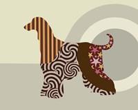 Afghan Hound Dog Fine Art Print