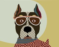 American Staffordshire Terrier Fine Art Print