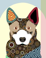 Australian Cattle Dog Fine Art Print