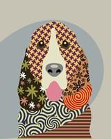 Basset Hound Dog Fine Art Print