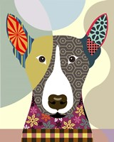 Bull Terrier Dog Fine Art Print