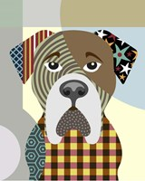 BullMastiff Dog Fine Art Print