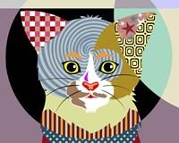 Spectrum Cat Fine Art Print