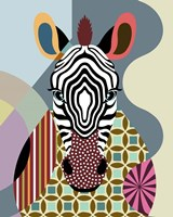 Spectrum Zebra Fine Art Print