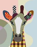 Stand Tall Giraffe Fine Art Print