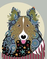 Rough Collie Fine Art Print