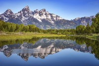 Ripples in the Tetons Fine Art Print