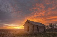 Sunset on the Prairie Fine Art Print