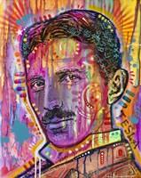 Tesla Fine Art Print