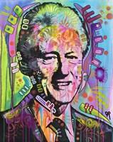 Bill Clinton Fine Art Print