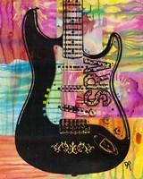 SRV Guitar Fine Art Print