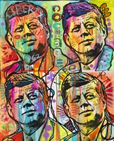 JFK 4 up Fine Art Print