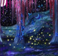 Firefly Night Fine Art Print