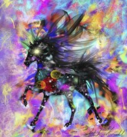 Galaxy Horse Fine Art Print
