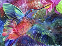 Hummingbird's Song Fine Art Print