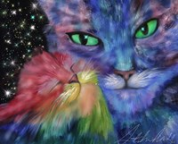 Star Cats Fine Art Print