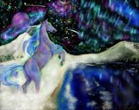 Aurora Horse Fine Art Print