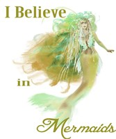 I Believe In Mermaids 2 Fine Art Print