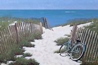 Beach Bike Fine Art Print