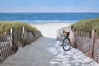 Beach Bike 2 Fine Art Print