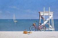 Beach Bike 3 Fine Art Print