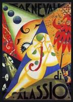 Cavneval di Alassio Fine Art Print