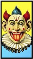 Circus Clown Framed Print