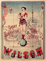 Circus 1889 Fine Art Print