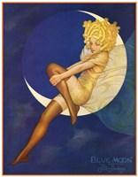 Blue Moon Silk Stockings Fine Art Print