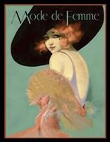 Mode de Femme Fine Art Print