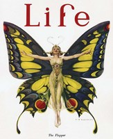 Life - The Flapper Fine Art Print