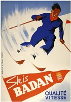 Skis Badan Fine Art Print