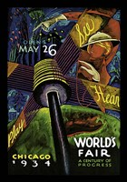 Chicago World's Fair 1934 Fine Art Print
