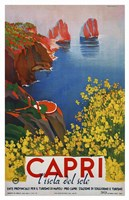 Capri L'Isola del Sole 1 Fine Art Print