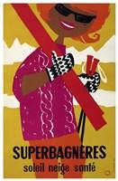 Superbagneres Fine Art Print