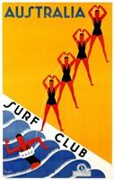Australia Surf Club Fine Art Print
