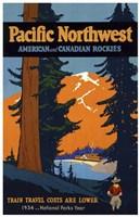 American & Canadian Rockies Fine Art Print